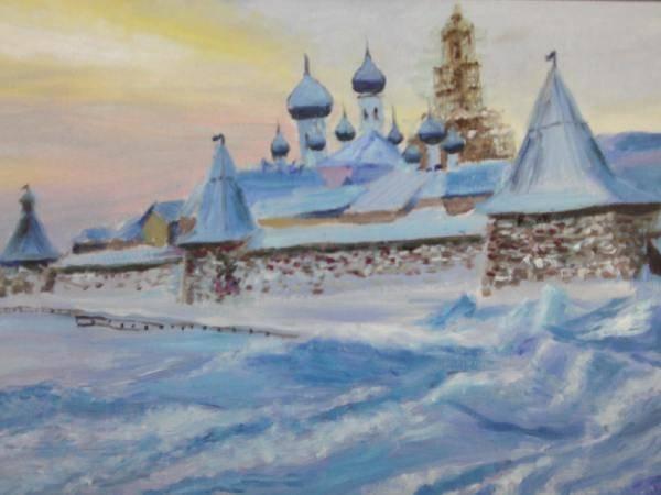 Монастырь а Архангельской обл.