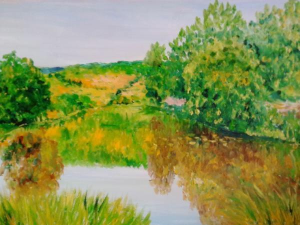 Речной пейзаж 5