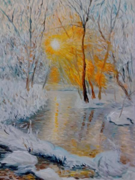 Зимний пейзаж 5
