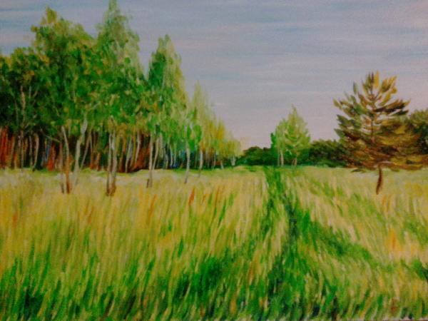 Весенний пейзаж 5