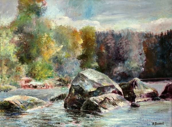 Вода и камни Карелии