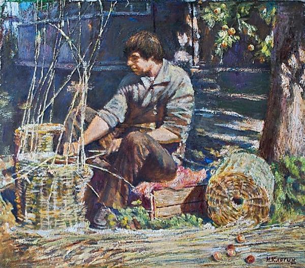 Скоро яблочный спас /  Николай Клягин