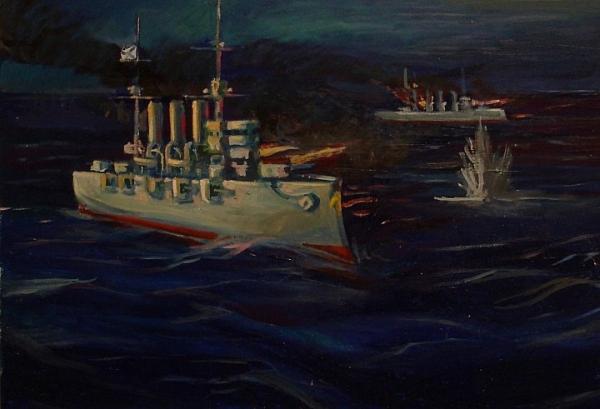 Бой на море. Балтика