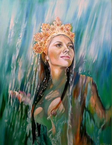 ДАНА — славянская богиня воды.