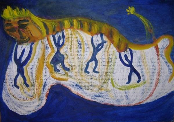 Добыча или проводы года Тигра