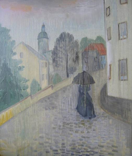 Дождь в Йене