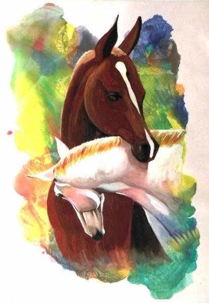 Ходят кони над рекою