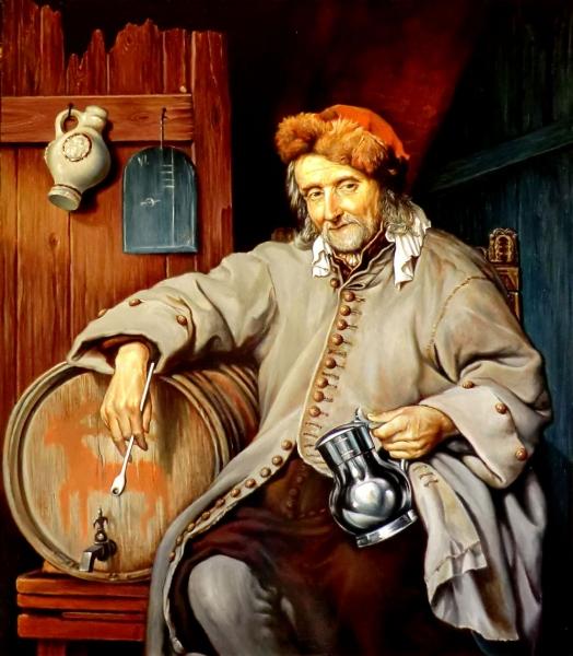 Старый пьяница (коп с Метсю) /  Валерий Литвинов