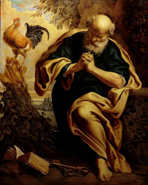Покаяние Святого Петра (коп с Сегерса)