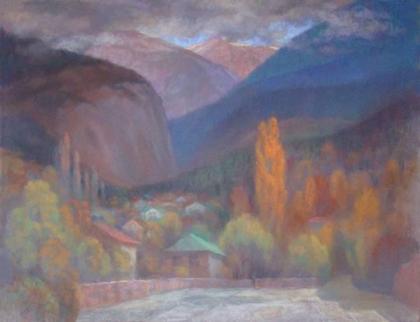 Ялта. Осень в горах.