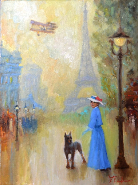 Париж. Защитник /  Валерий Буданов