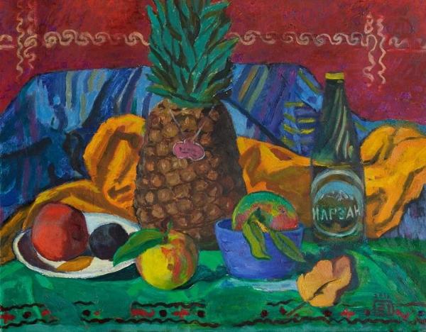 Натюрморт с ананасом