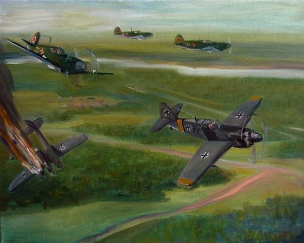 Воздушный бой /  Georg Shurygin