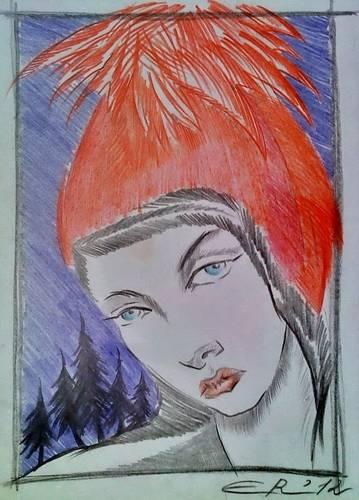 Красная шапочка /  Elly Rait