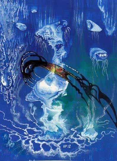 На Нептуне.
