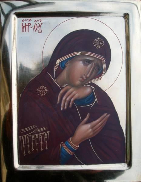 Икона Божией Матери Скорбящая