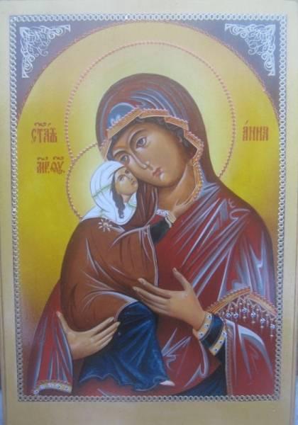 Св.Анна с Богородицей