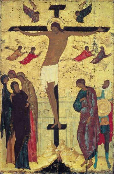 Распятие Христа 1500 г