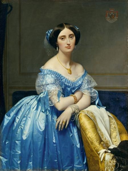 1851-1853.Жозефина-Элеонора-Мари-де-Полин де Галар Брассак де Беарн (1825-1860), Принцесса де Брогли