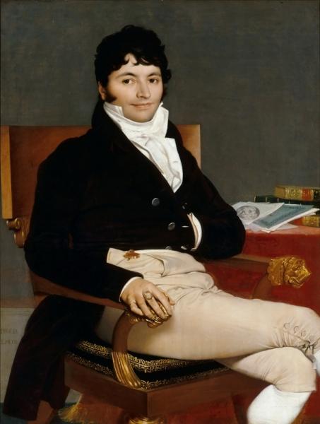 1804-1805, Филибер Ривьер (116 х 89 см) (Париж, Лувр)