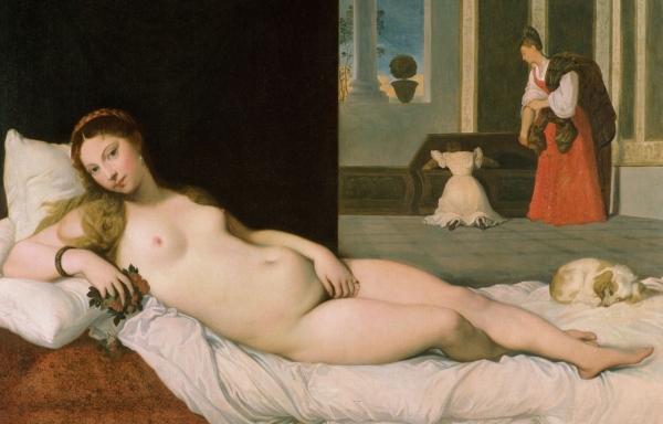 1822 Лежащая Венера (116 х 168 см) (Балтимор, музей Уолтерса)