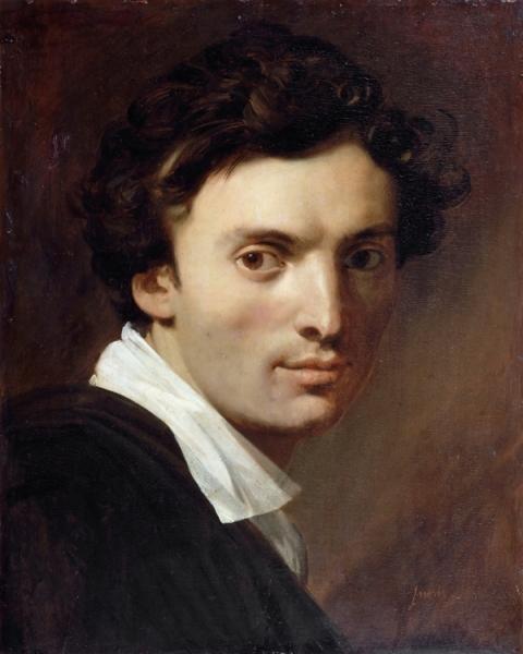 1815, Скульптор Жан-Пьер Корто (41 х 33 см) (Париж, Лувр)