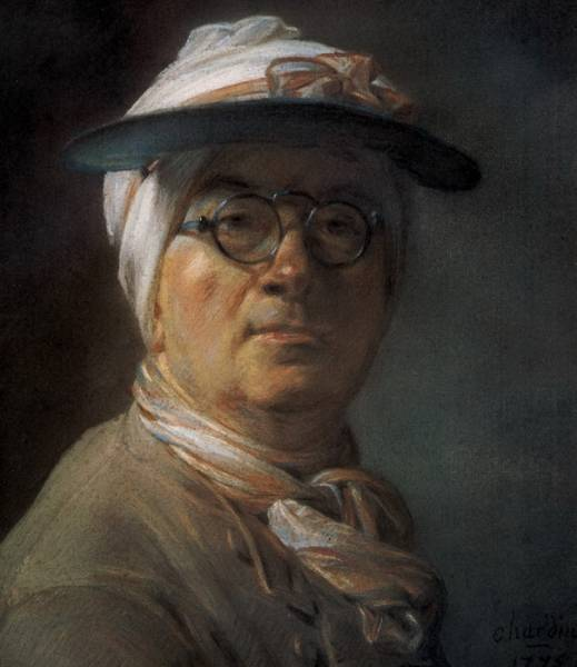 Автопортрет в очках