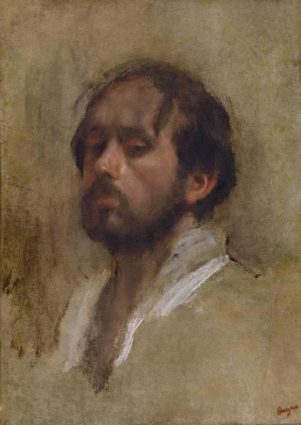 Автопортрет (ок.1862 (52 х 37.5)