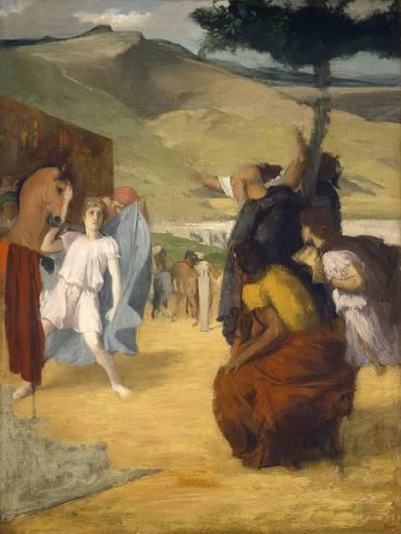 Александр и Буцефал (1861-1862) (Вашингтон, Нац. галерея)
