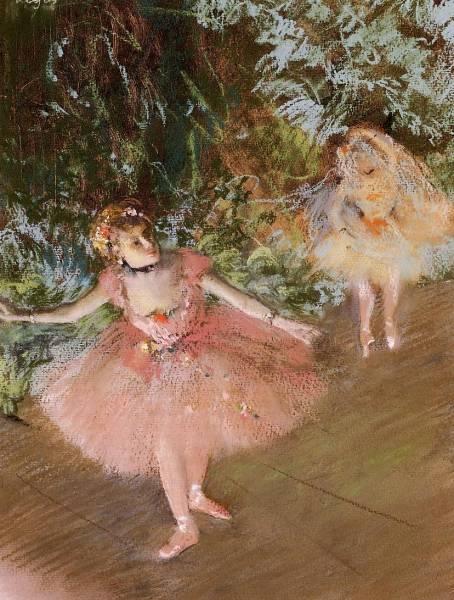 Танцовщица на сцене (1878-1880)