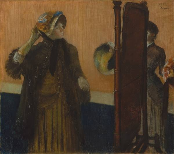 У модистки (1882)