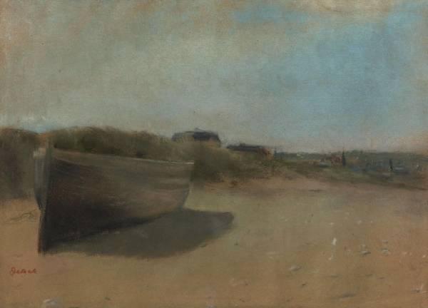 Лодка на песке (1869)