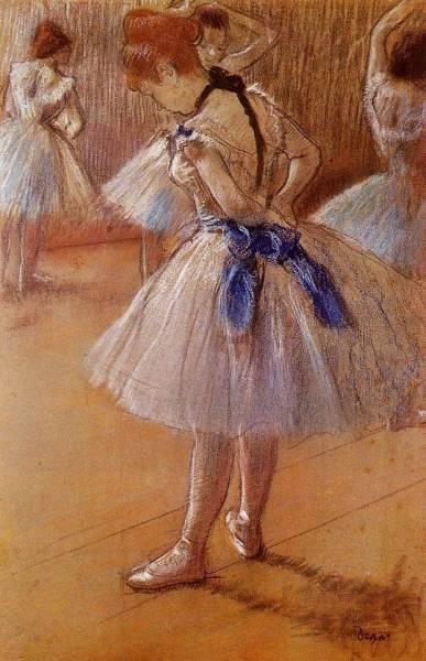 Танцевальная студия (ок.1878)