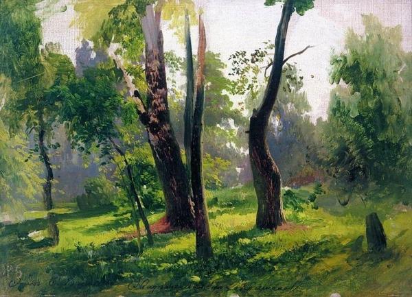 Деревья. 1870