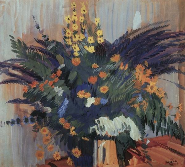 Полевые цветы. 1910