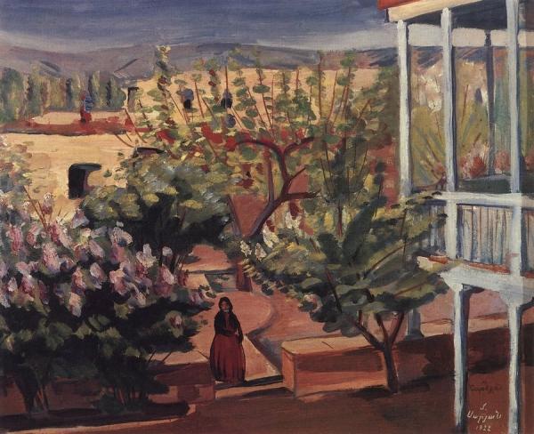 Дворик. Ереван. 1922