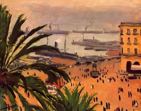 Place du Gouvernement, Algiers 1927