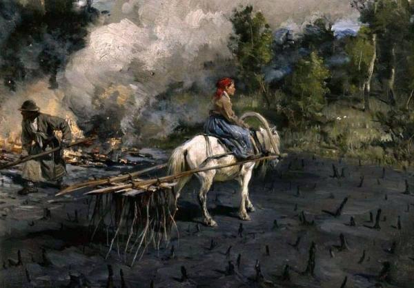 «Приготовление почвы для посева льна в Вологодской губернии» 1887–1890 гг.