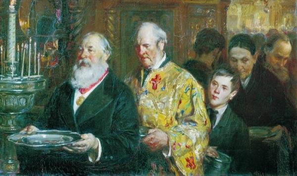 Церковный староста, 1885