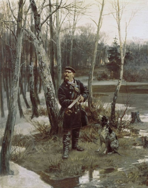 На тяге, 1881