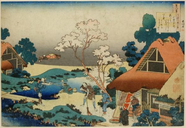Оно-но Комати (Ono no Komachi) (ок.825 - ок.900). Сельские труженники