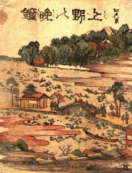 Из 8 знаменитых видов Эдо  фукэй-га