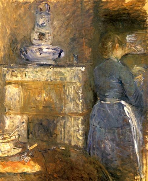 1880 La salle a manger