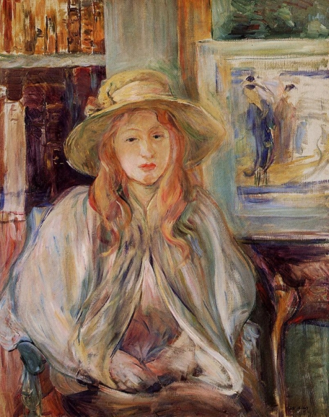 Girl in a Straw Hat - 1892