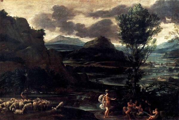 Эрминия с пастухами