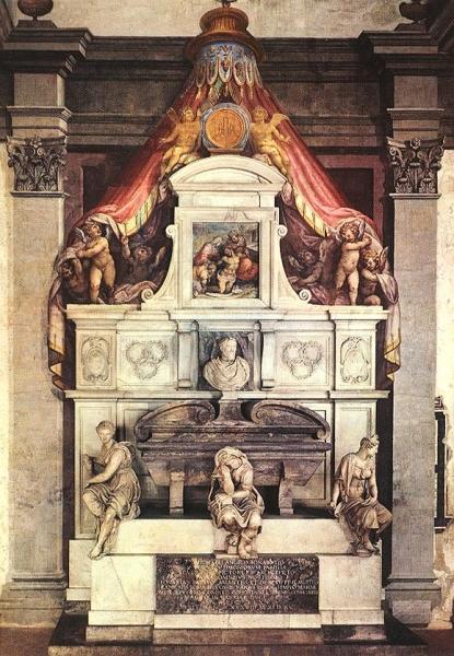 Памятник Микеланджело