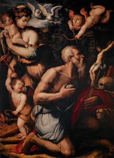 Искушение Святого Иеронима