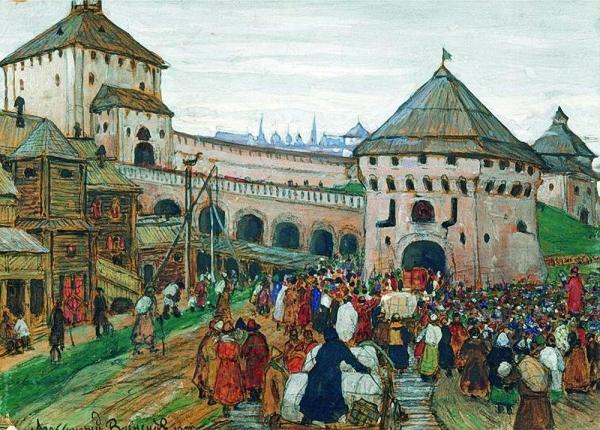 Старая Москва. 1896