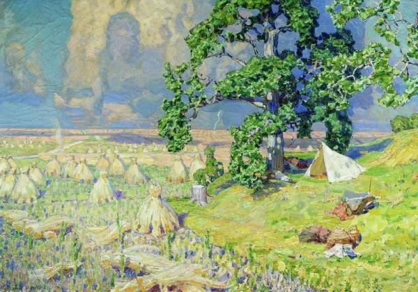 Гроза идет. 1911