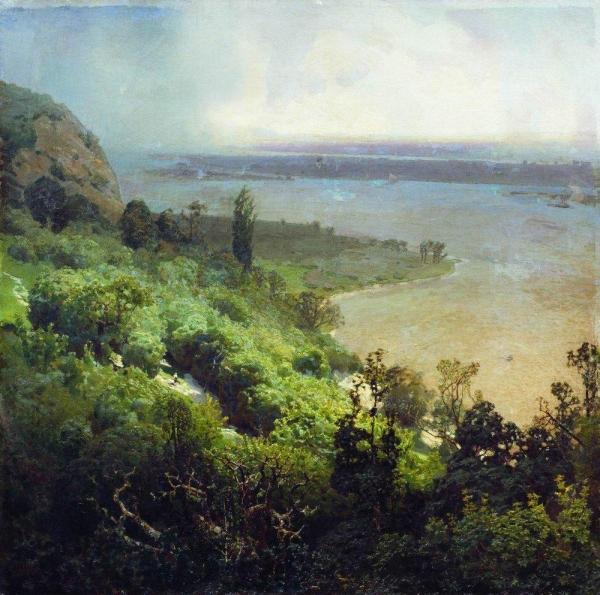 Днепр перед бурей. 1888